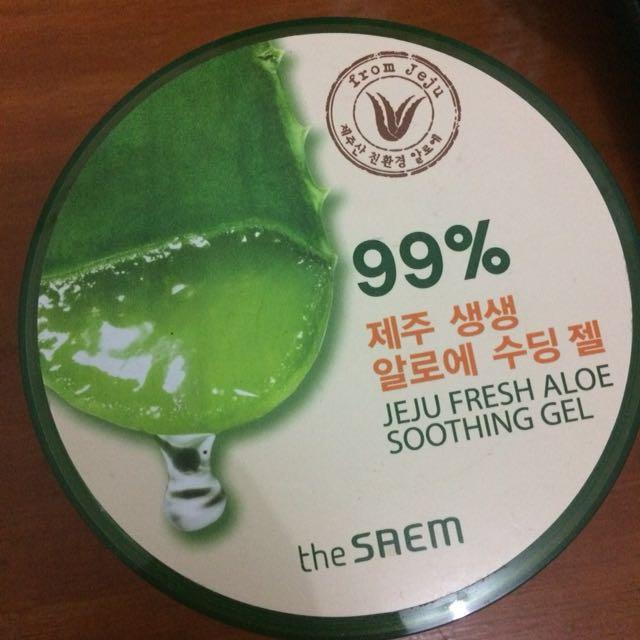 The Saem 99% Aloevera gel