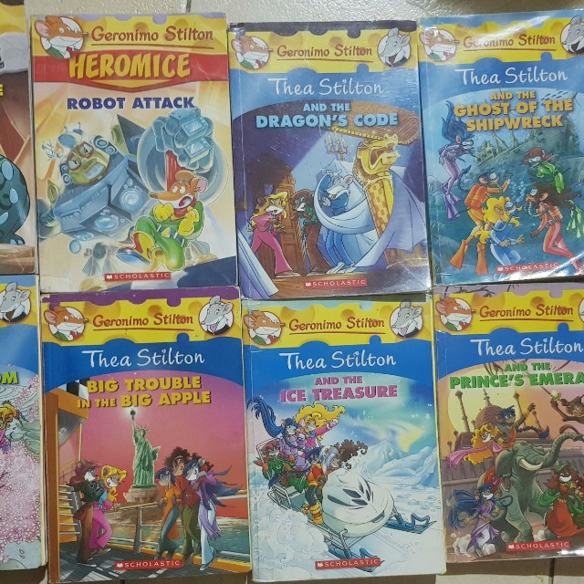 Thea Stilton And Geronimo Books Childrens On Carousell