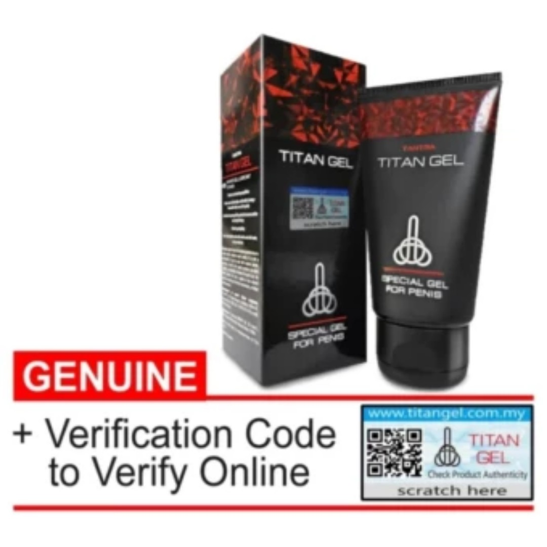 titan gel 50ml original with 73 for him only buying online only
