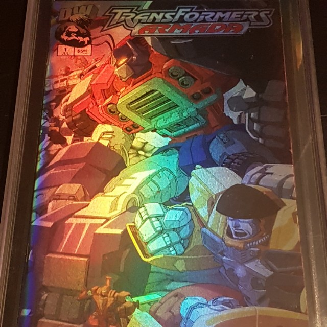 Transformers Armada CGC 9.8
