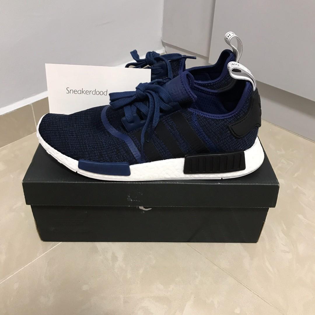 826cfee4e UK11 US11.5 adidas NMD Mystic Blue