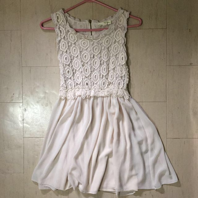 UO Babydoll Lace Dress