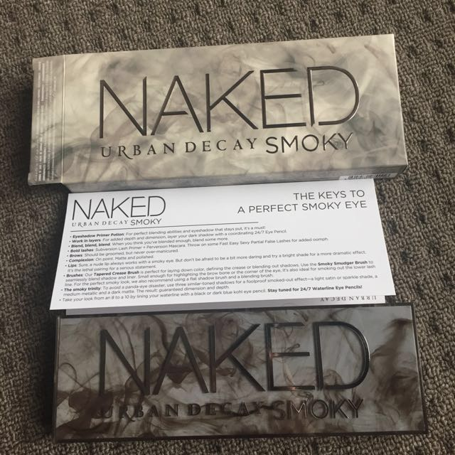 Urban Decay - Naked Smoky GENUINE ITEM PROOF OF Purchase can be provided