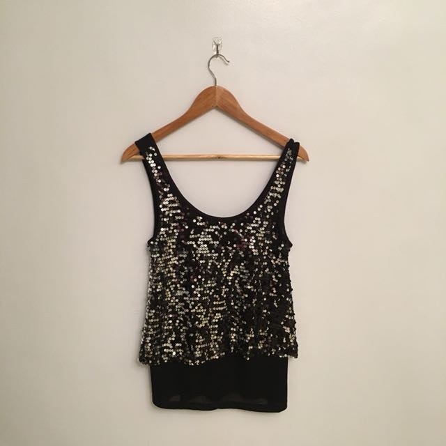Vero Moda sequined top
