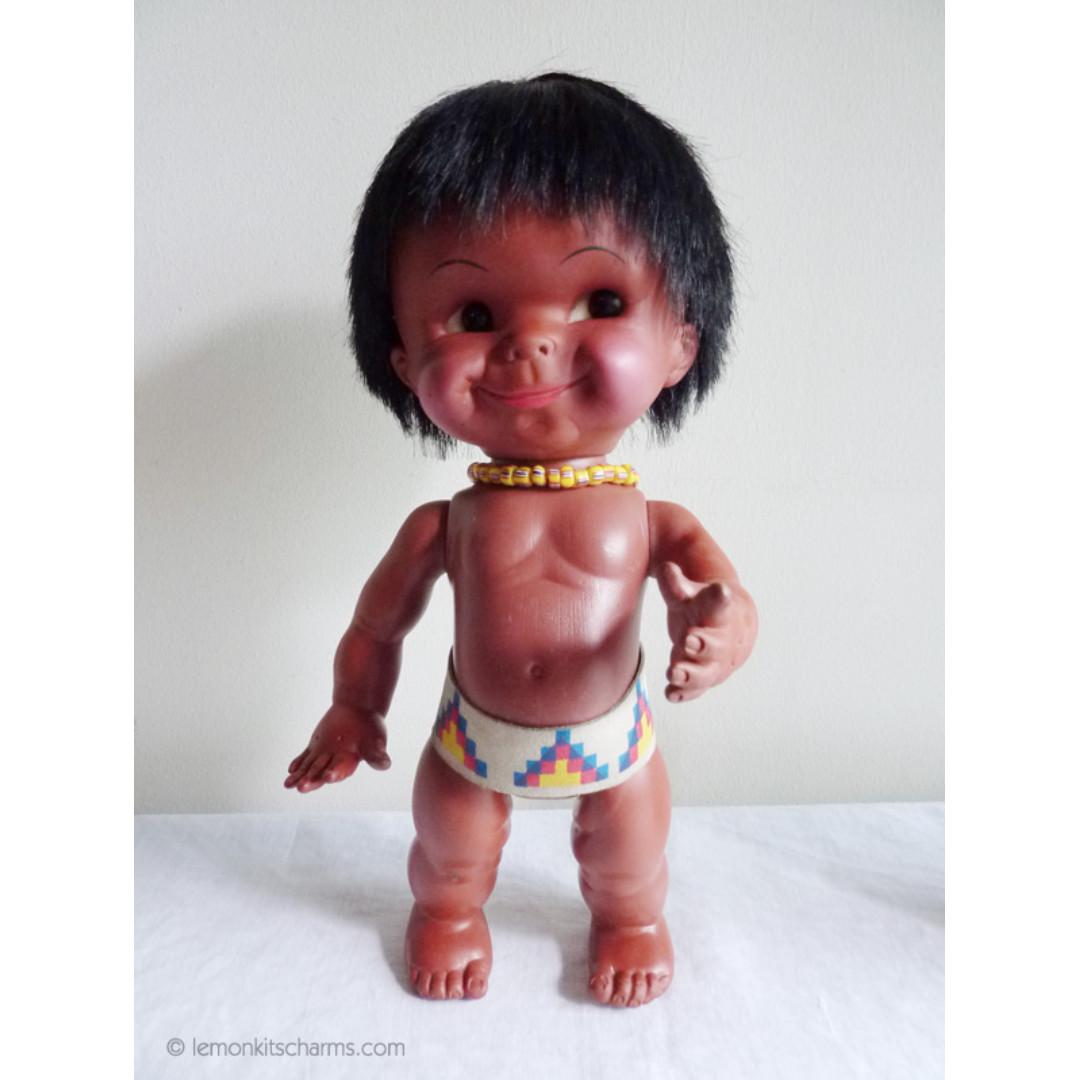Vintage 1970s Native American Doll Regal Canada