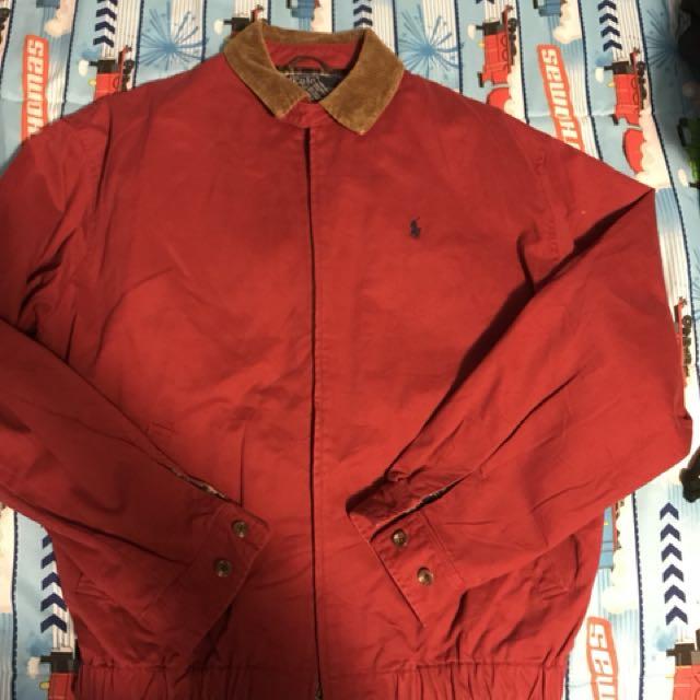Vintage polo jacket