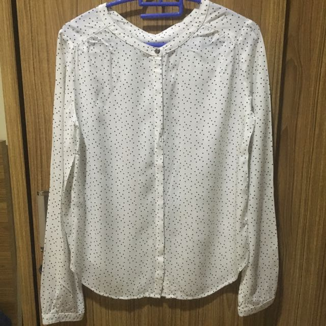 White Blouse Mango
