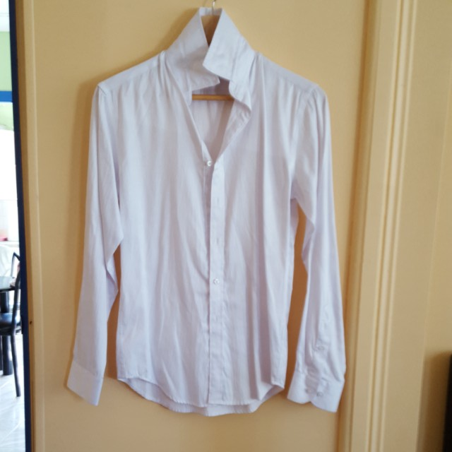White formal shirt size extra small xs