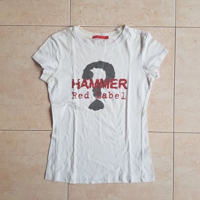White T-Shirt by Hammer