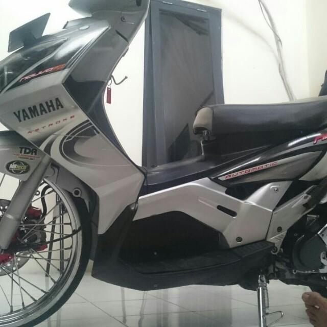 yamaha nouvo z 2007 Silver