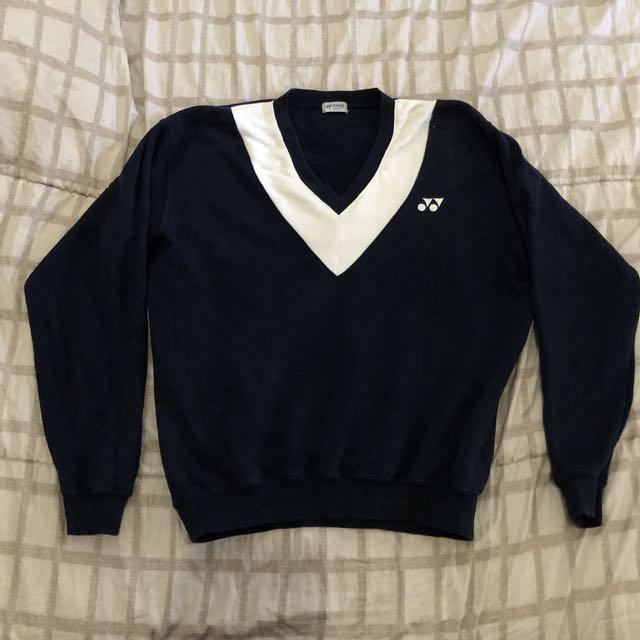 YONEX ori v-neck sweatshirt