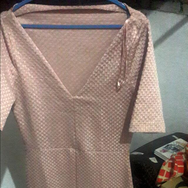 Zara Bodycon Midi Dress ORI (Backless)