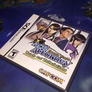 Ace attorney ds game