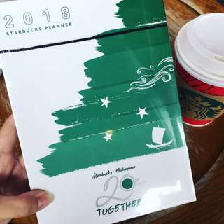SEALED STARBUCKS 2018 PLANNER