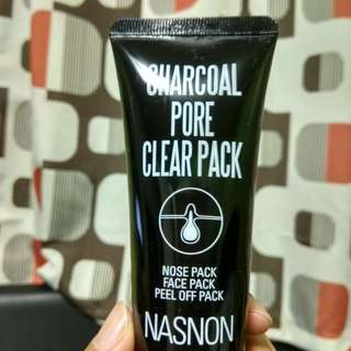 Nasnon Charcoal Pore Clear Pack