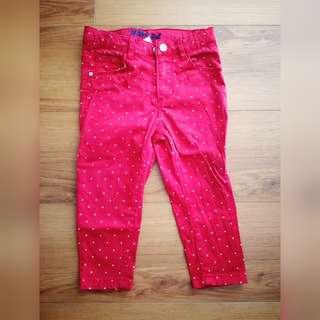 Miki Girl Long Pants