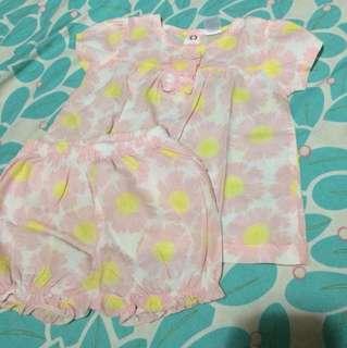 Pre love Carters floral terno