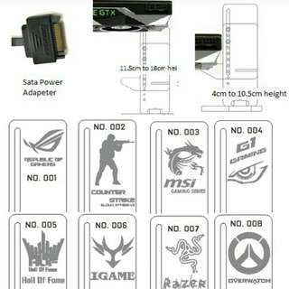 (12/17) Desktop Graphic Card Support Stand (O)