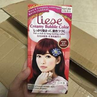 Liese Creamy Bubble Colour Dye (Maple Red)