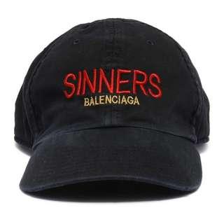 Balenciaga Sinners hat 巴黎世家