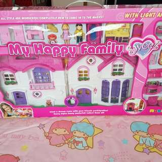 My Happy Family Doll House Toy Set
