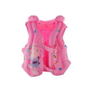 INFLATABLE FLOATING VEST HELLO KITTY