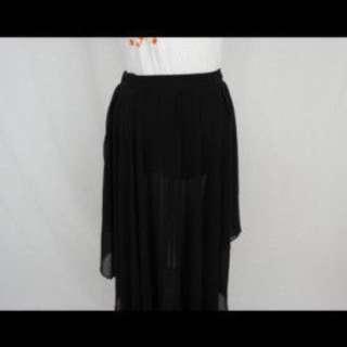Zara - long black skirt