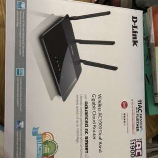 D-link AC-1950 router for sale