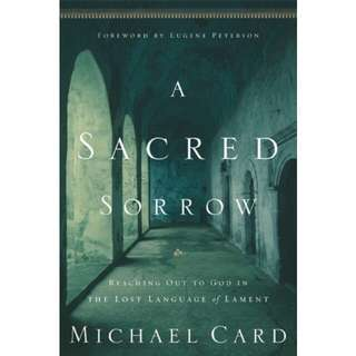BN Sacred Sorrow: Reaching out to God in lament