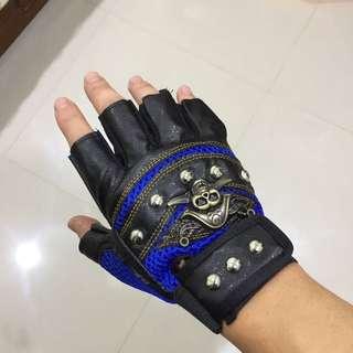 半指騎行車用透氣手套科技面料運動手套