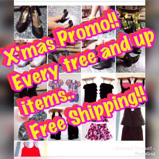 X'mas promo!! Free shipping