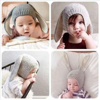 寶寶 嬰兒 兔頭帽 兔兔造型 萌系