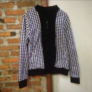 Jaket winter coat bulu Merk Giordano