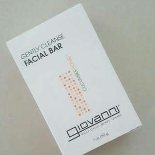 BLESS📬Brand New In Box Giovanni Gently Cleanse Facial Bar Soap (Refreshing Cucumber)