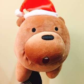 🚚 全新 聖誕版 熊熊遇見你 大大 玩偶 抱枕