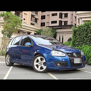 全額貸專區~2005年GOLF TDI 2.0 柴油 改GTI LOOK 可履約保證無重大事故泡水