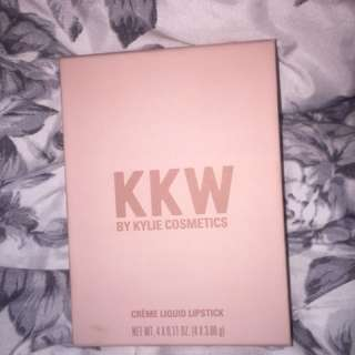 KKW Kylie cosmetics nude lip set