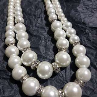Pearl Necklace - 2 layer