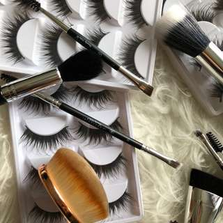 $10 Each Assorted Brushes and Lashes *Brand New - Plenty in Stock*