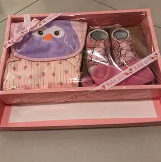 Baby Girl Apparel Complete Gift Set
