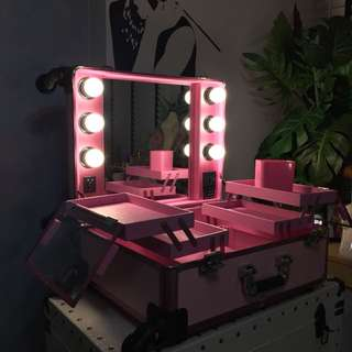 Make up cosmetic case dressing table
