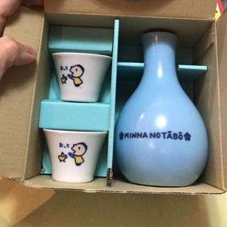 日本製 大口仔 清酒🍶杯set 97年出品