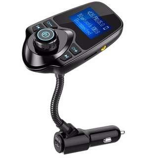Nulaxy Wireless Bluetooth FM Transmitter, No AUX Port Needed