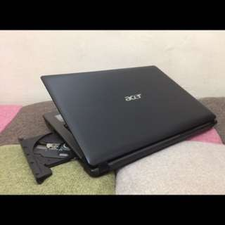 Acer Intel core i3 2GB NVIDIA Videocard Laptop. Smooth