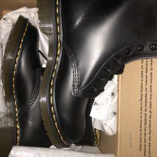 Two BRAND NEW DOC MARTENS