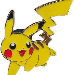Pokemon Pikachu Collector's Pin