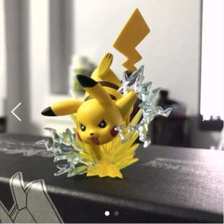 Pikachu Collectible Figure (Red and Blue Collection)