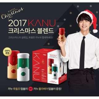 現貨 限量 KANU 聖誕限量版 孔劉代言 美式黑咖啡 無糖 大容量 1.6g 70入 MAXIM 贈保溫杯