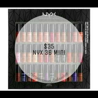 Nyx 36pcs lipstick