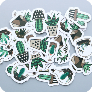 Cactus - Don't be a Prick Scrapbook / Planner Stickers #59